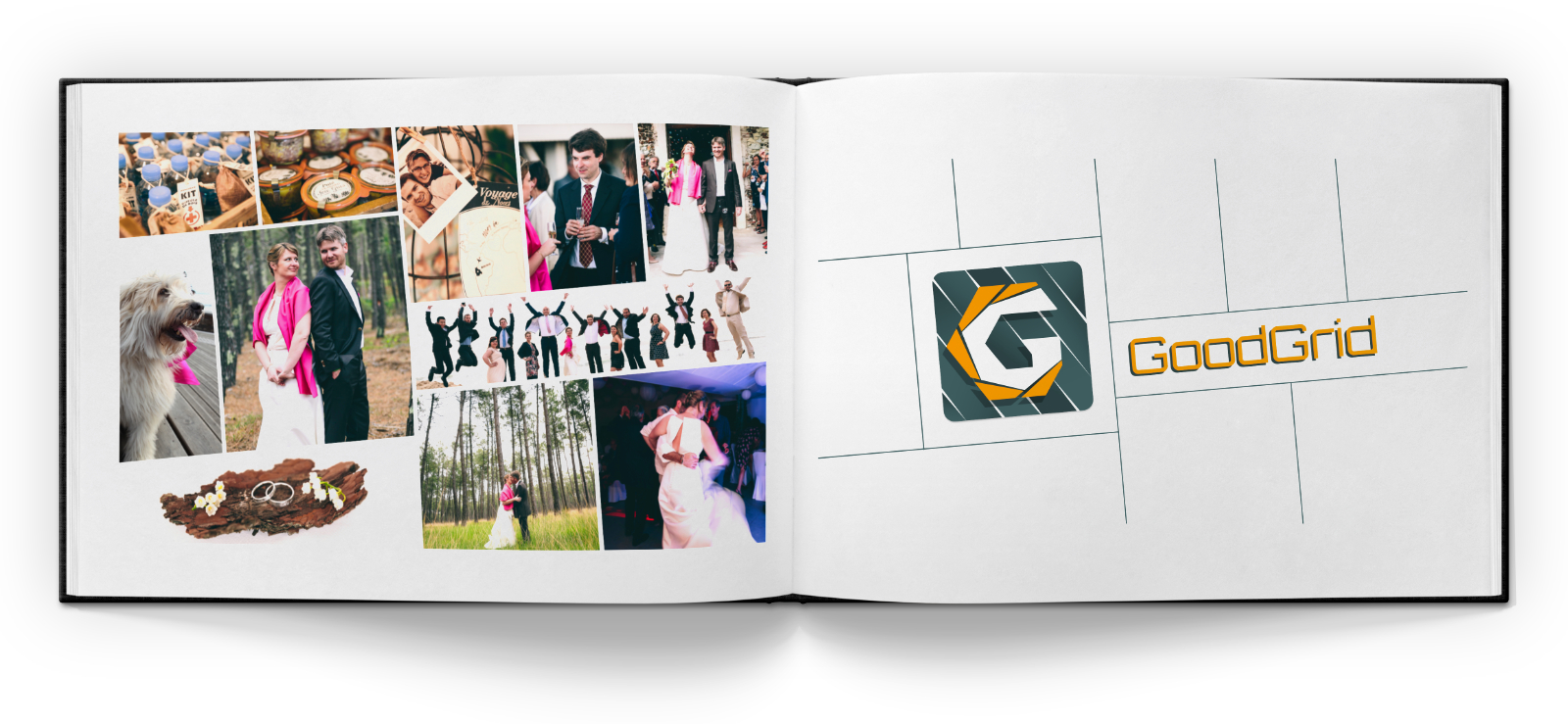 GoodGrid - New Genre of Mac Photo Editing on Kickstarter Image